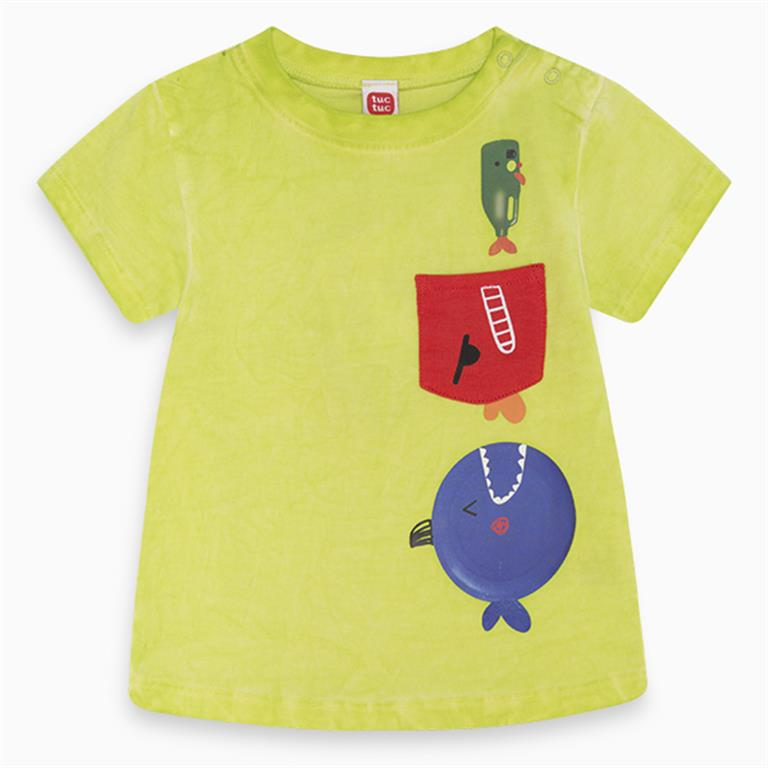 Trio Cotton T-shirt