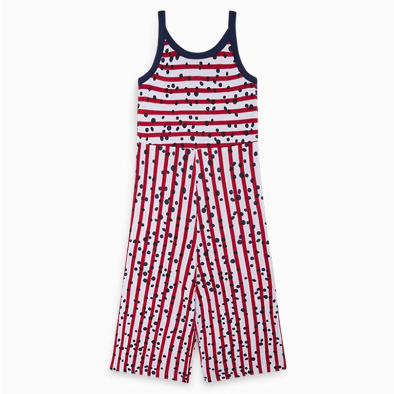 Blue, Red, White Jumpsuit