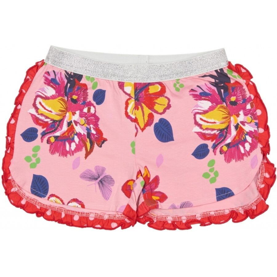 Tess Shorts Floral Pink
