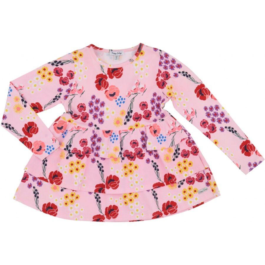 Ellen Candy Pink Floral Top