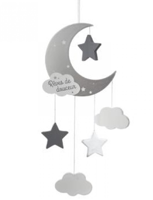 Sweet Dreams Suspension Grey/White