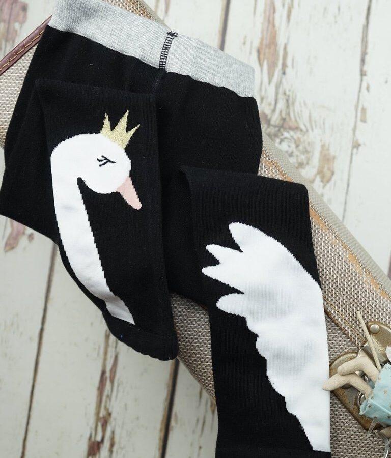 Junior Swan Leggings