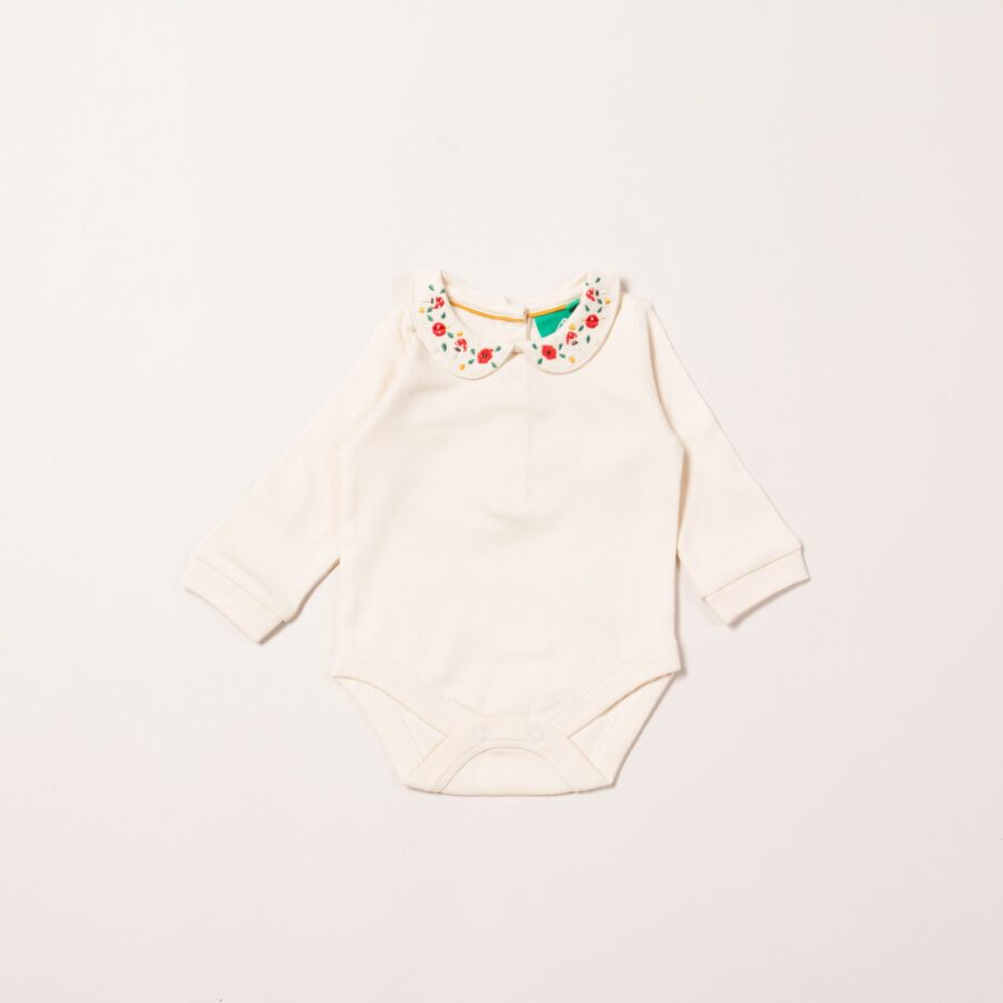 Toadstool Embroidered Babybody