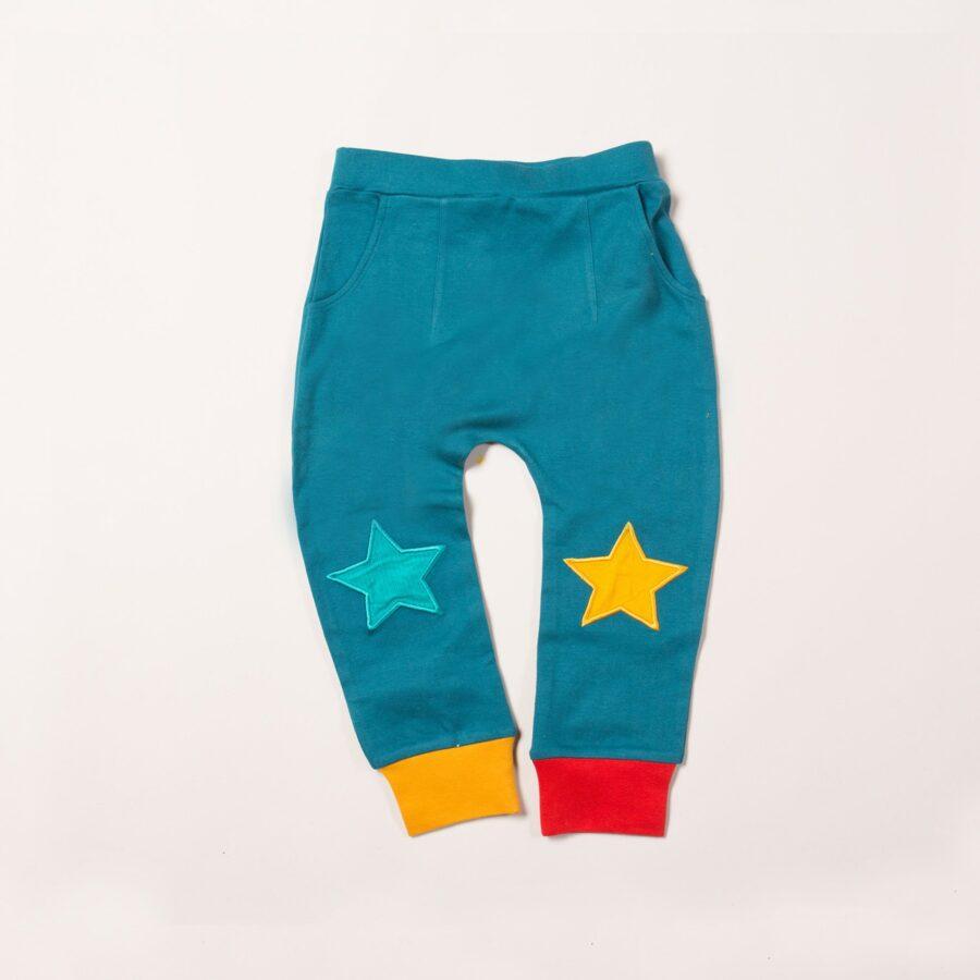 Navy Star Joggers